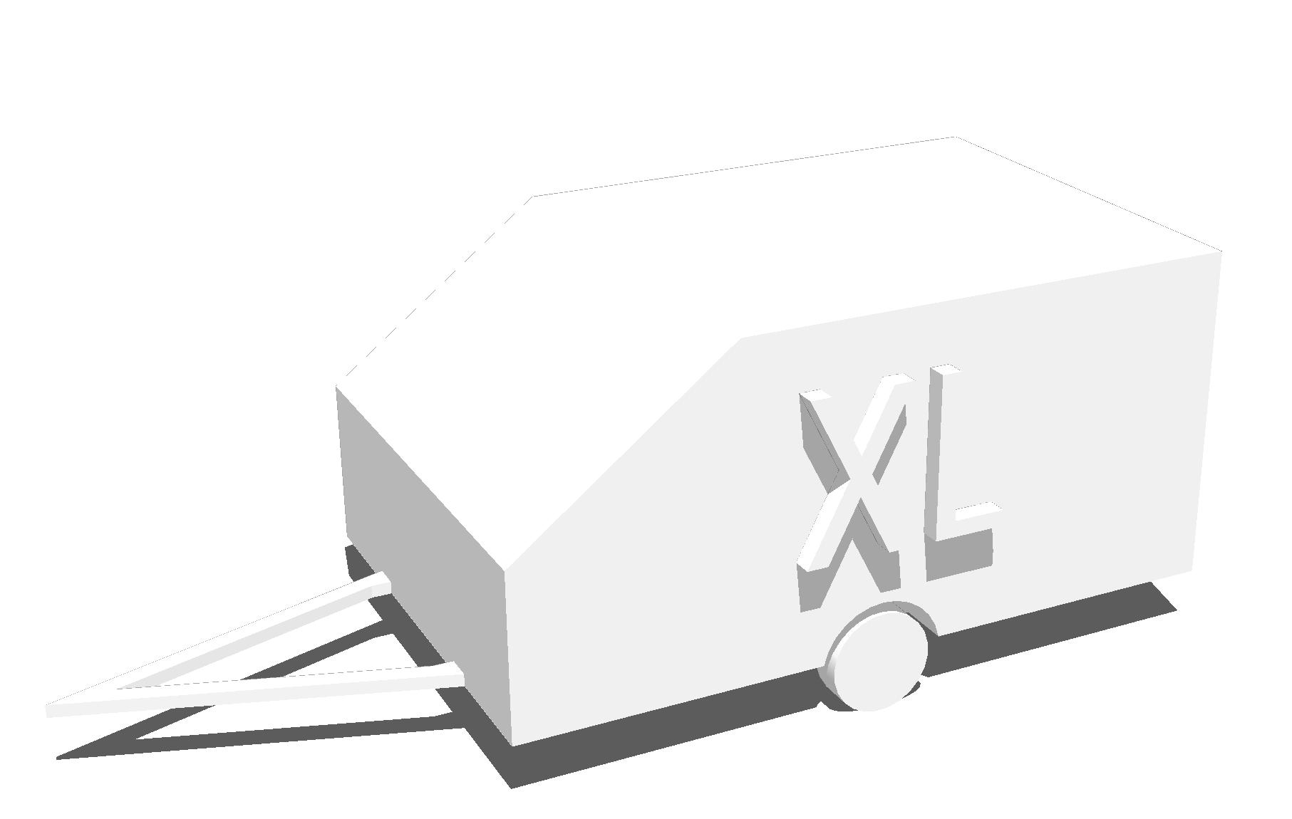 Kåpsläp XL